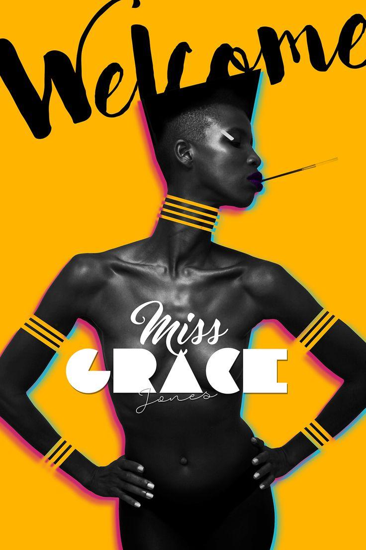 Miss Grace Jones on Behance