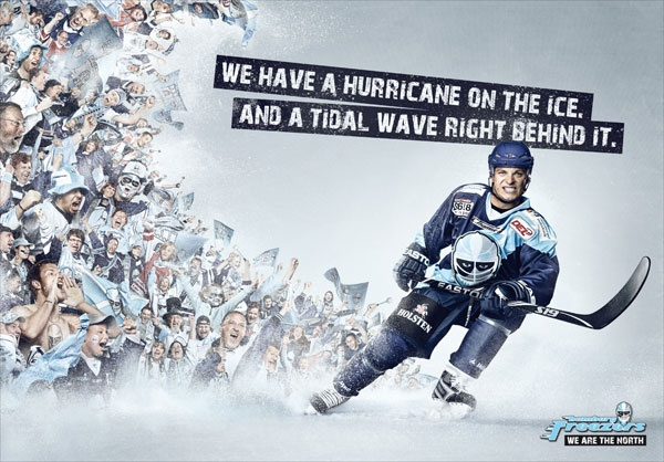 Freezers - We have a hurricane on the ice, and a tidal wave right behind it | #ads #marketing #creative #werbung #print #advertising #campaign < found on www.designresourcebox.com pinned by www.BlickeDeeler.de | Follow us on www.facebook.com/BlickeDeeler
