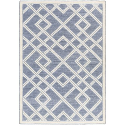 Designed By Beth Lacefield The Surya Brighton Hand Woven Rug Offers Contemporary Style To Bedrooms And Living Rooms With Shades Of Blue Gray