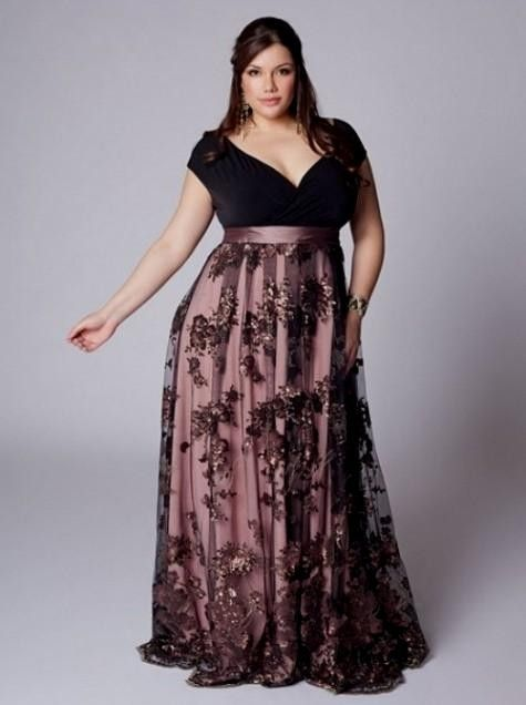 294 best Plus Size Evening Wear Dresses images on Pinterest ...