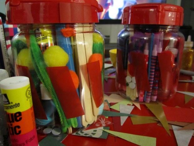 "DIY gift for kids - ""I'm not bored anymore"" jars."