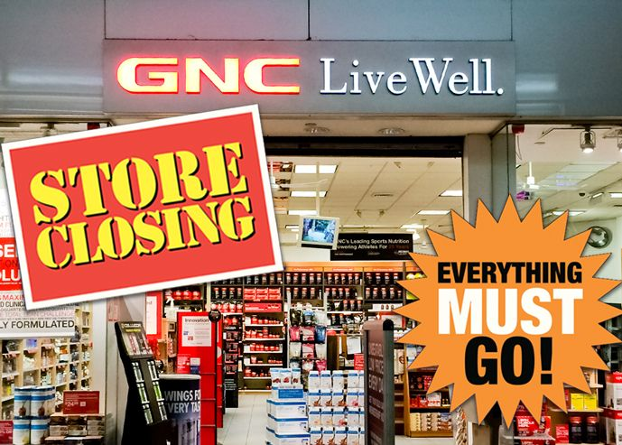 Pep Pill Needed As Many As 700 More Gnc Vitamin Stores Will Disappear Later This Year Gnc Gnc Vitamins Mall Stores