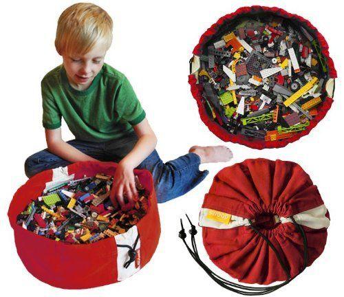 Swoop Bag Mini Toy Storage Bag, Red:Amazon:Toys & Games