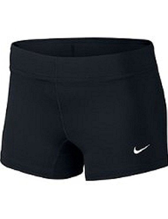 Nike Performance Women S Volleyball Game Shorts Small Black Volleyball Outfits Volleyball Shorts Volleyball Spandex