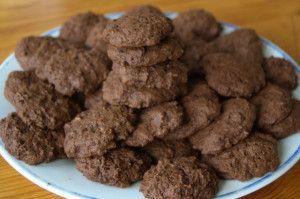 Talianske čokoládové cookies - Biscottini italiani di cioccolata