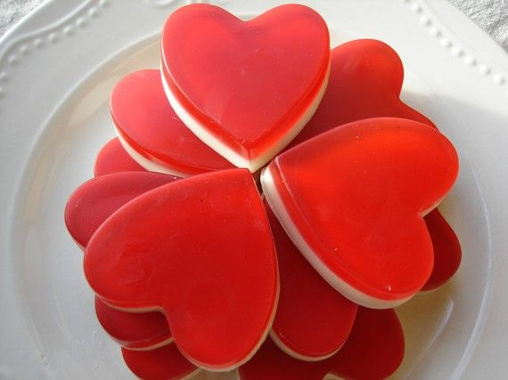 Red heart soap, a different kind of fun than candy!