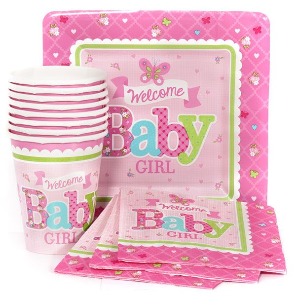 Welcome Baby Girl Munch Pack for 8