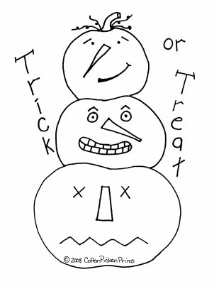 trick or treat Jack stack. Free