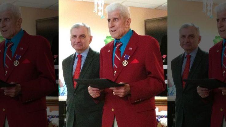 Alfred Bettencourt 89, Awarded Bronze Star, Purple Heart