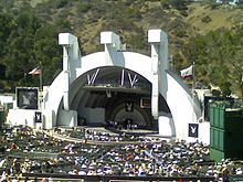 Hollywood Bowl  Placed here 4 times. Incredible venue