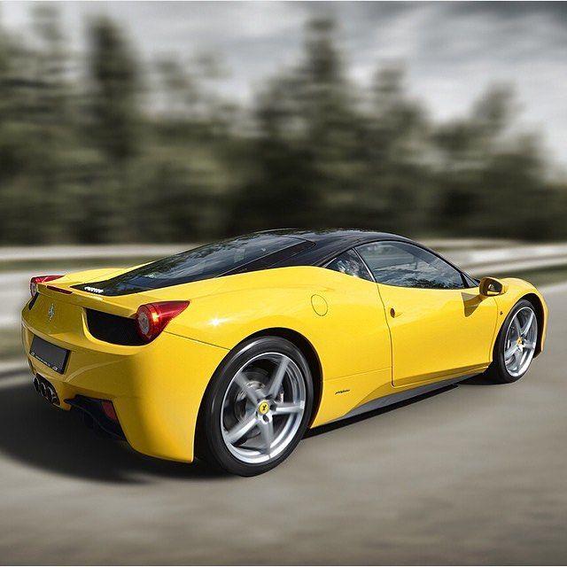 Beautiful yellow #Ferrari #458Italia  Captured by @jimmyt_cars #Autogespot by autogespot