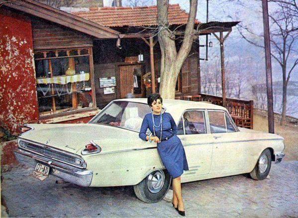 Nebahat Çehre Pierre Loti'de (1967) #istanbul #istanlook #nostalji