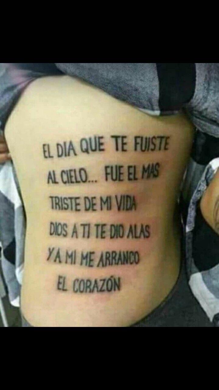 Papa Quotes: Tatuajes, Tatuajes Escritos Y Tatuaje Triste