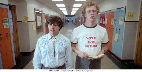 Napoleon Dynamite        Vote For Pedro