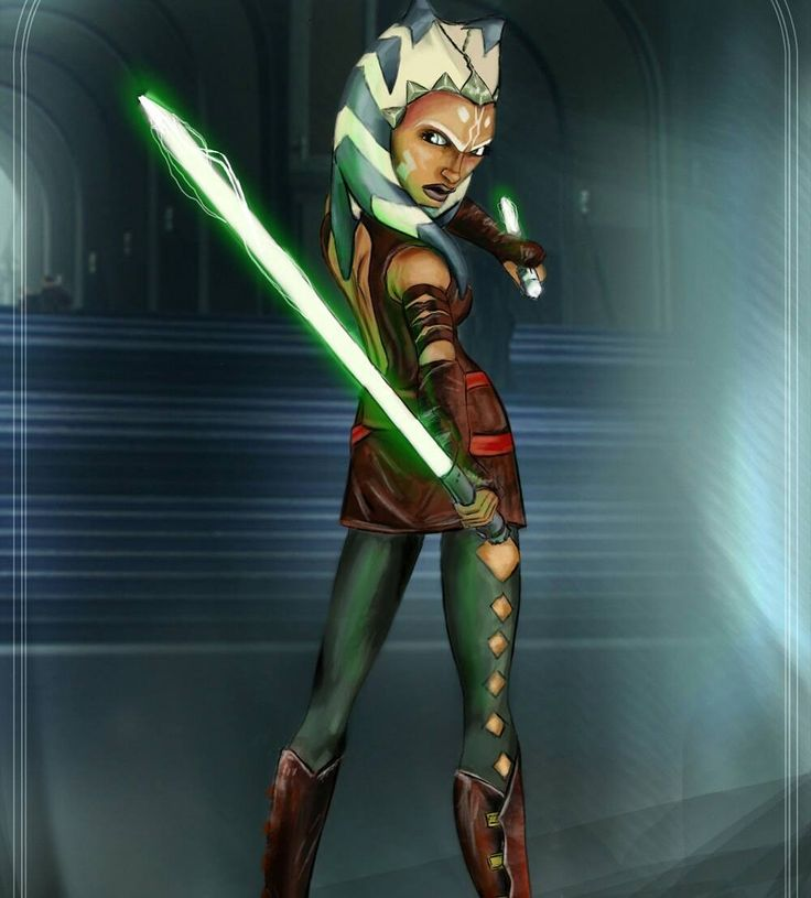 Ahsoka Tano by Isaias R. Tello #StarWars #Jedi #Sith #ConceptArt #Art #Fanart #CloneWars #Gaming #VideoGames #Games #Fantasy #Scifi #Lightsaber #game #videogame #painting #drawing #digitalart #digitalpainting #characterart #characterdesign #character #digital #insidific #instagram #playstation #xbox #pc