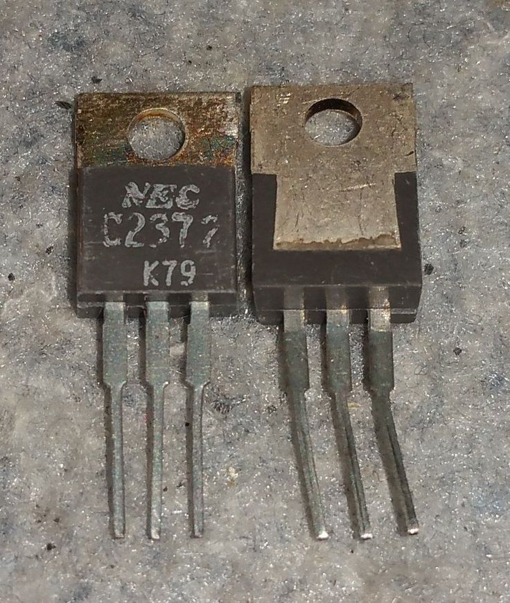 Details about 2sc2372 nec transistor new old stock c2373