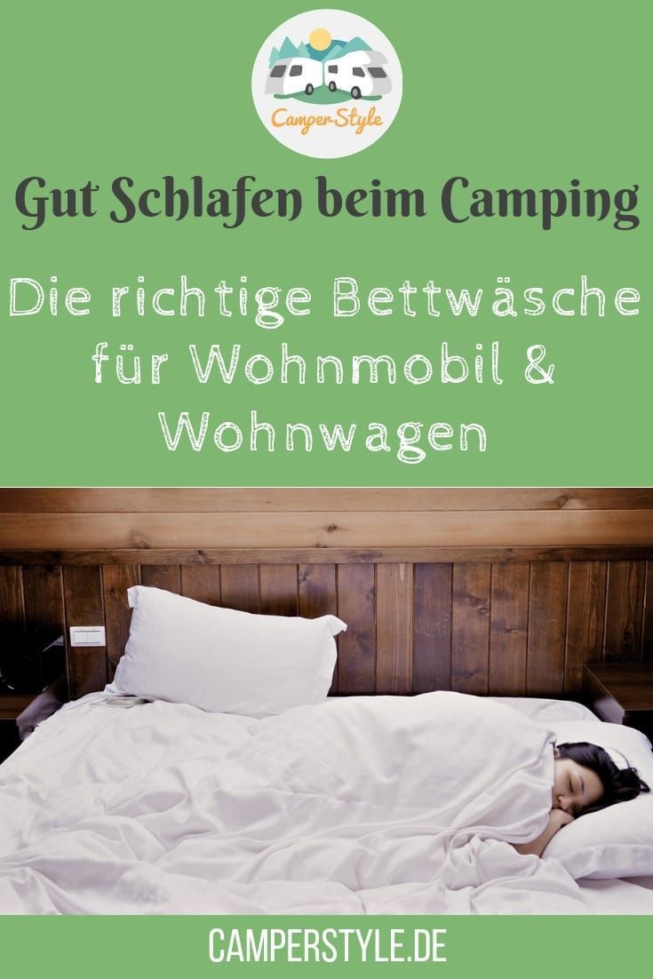 Die Richtige Bettwäsche Für Wohnmobil Und Wohnwagen Sommer Winter