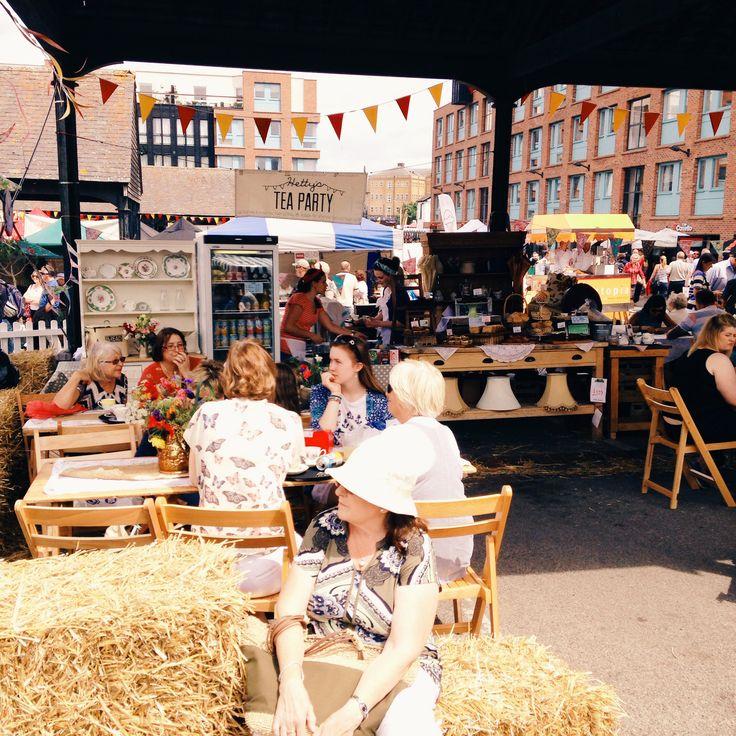 hettys tea party gloucester food festival