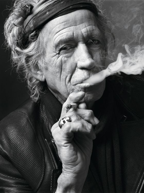 'I mean... some doctor told me I had six months to live ……and I went to their funeral.'  Keith Richards
