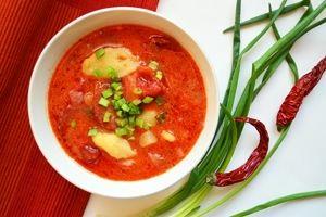 Zupa paprykowa z corizo