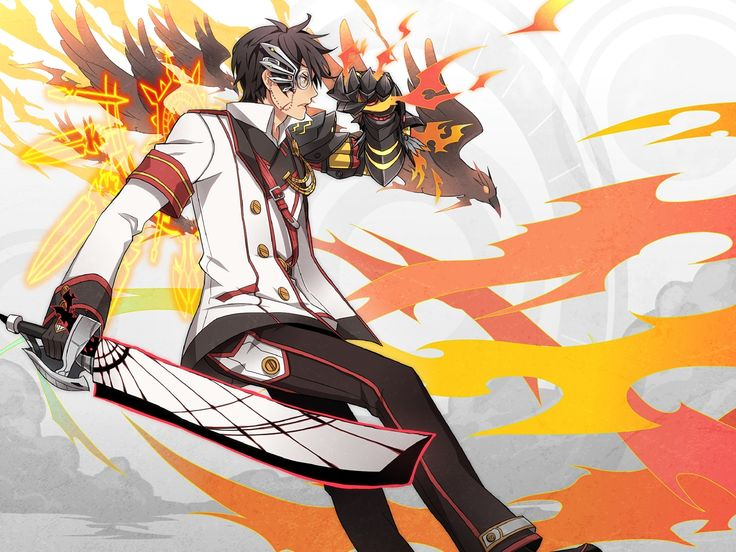 Blade Master Elsword And Eve