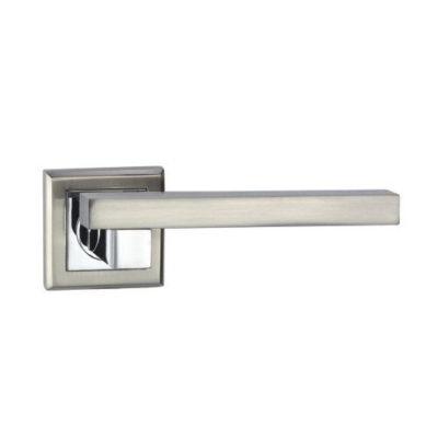 Modern Square lever Polished / Brushed chrome door handles