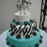 Aqua zebras