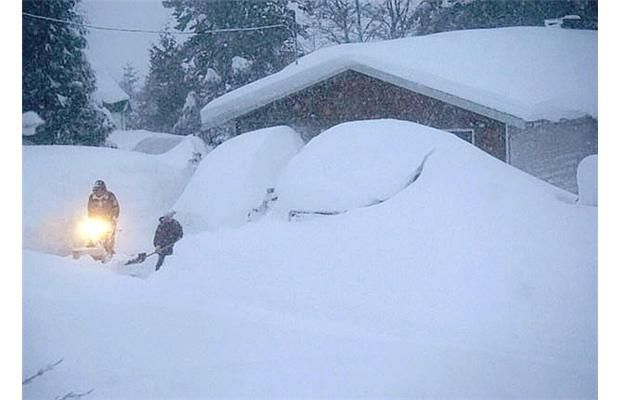Epic winter storm buries Kitimat and Terrace in two metres of snow