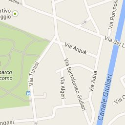 google maps percorso  personale