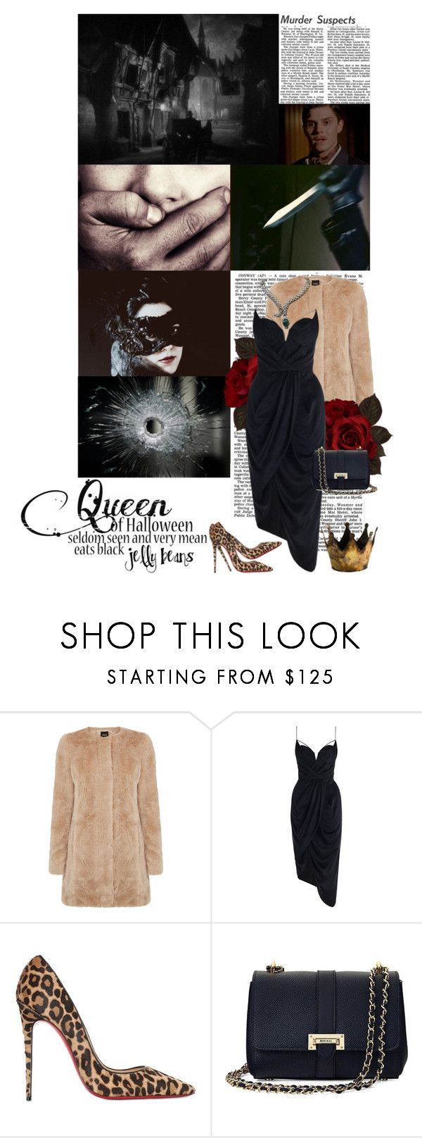 """""""TODAY IS MY BIRTHDAY :) AND HAPPY HALLOWEEN :)"""" by kokosh ❤ liked on Polyvore featuring Oasis, Zimmermann, Christian Louboutin and Aspinal of London"""
