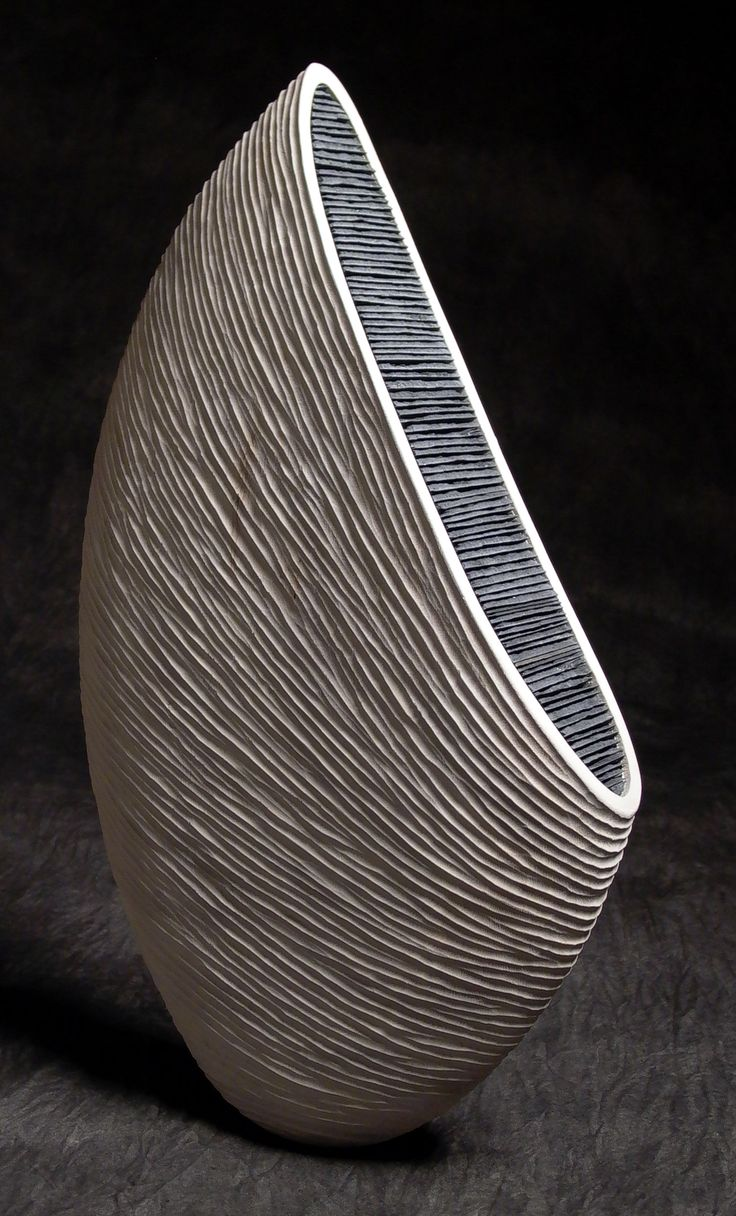 Thierry Martenon ~ Wood Sculpture 2005 (Erable et Ardoise - Maple and Slate)