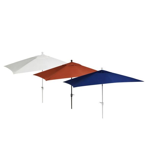 10 Foot Aluminum Rectangular Umbrella   Bed Bath U0026 Beyond