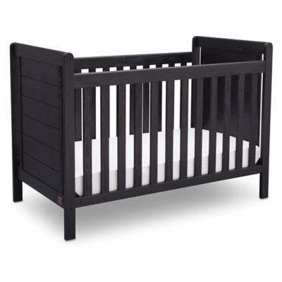 Both rustic and relaxed in style, the Serta Cali 4-in-1 Convertible Crib is an attractive piece that grows as your child does. Featuring 4 adjustable mattress heights, this crib easily converts into a toddler bed, daybed and full size bed.
