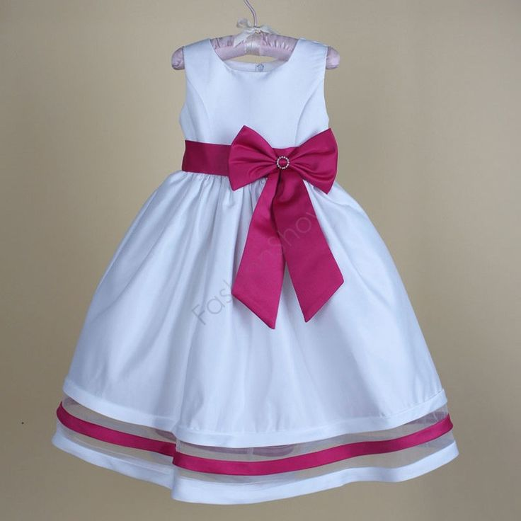 High quality Baby Girl dresses Children Kids Wedding Party dress Baby Girls Big Bow Wedding Vestidos 2 9 Years 38-in Dresses from Mother & Kids on Aliexpress.com | Alibaba Group