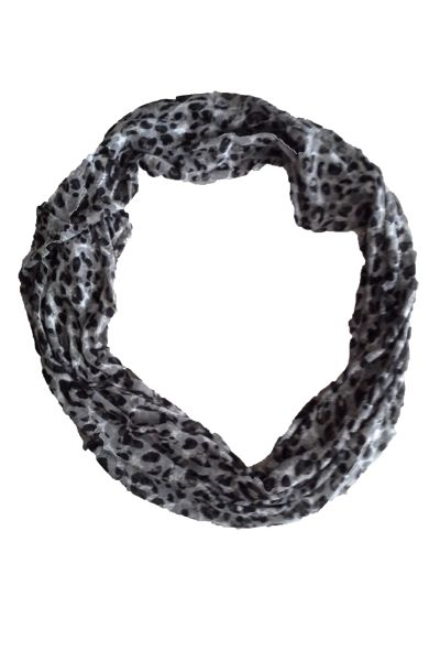 Animal print snood www.curv8ious.com