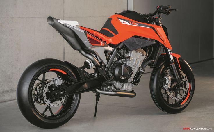 KTM 790 Duke Prototype Hints at New Middleweight Naked