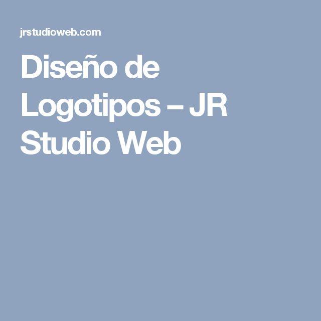 Diseño de Logotipos – JR Studio Web