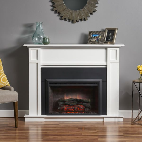 GreatCo Zero Clearance Electric Fireplace Insert - 36""