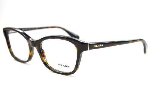 Prada 05PV Women's Designer Frame 52 Havana 2AU101 by Prada. $171.65. Original Case. Original Packaging. Prada Women's Designer Eyeglass Frame Havana. Save 43%!