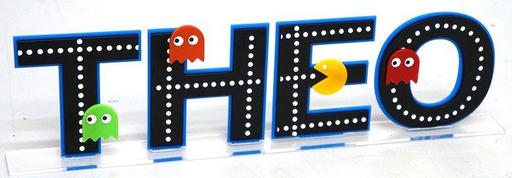 Display de Nome - Pac Man