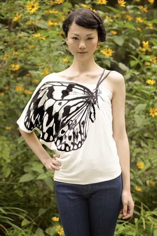 Butterfly top, $220.00