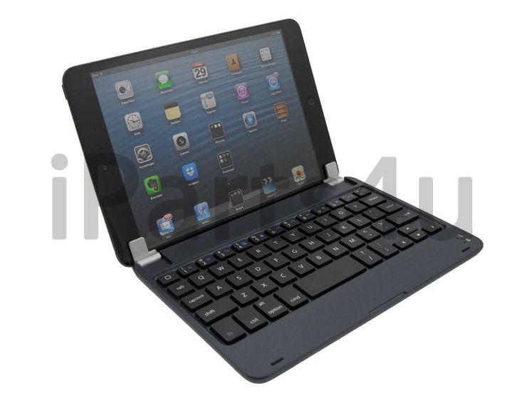 Luxus Alu Look Bluetooth Tastatur iPad Mini Schwarz iPad Zubehör, iPhone Zubehör und iPod Zubehör || Gut und Billig