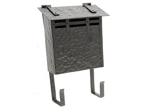 NACH mb-44747 Hammered Mailbox with Newpaper Stand, Black by NACH. $69.18. Wall mounted steel mailbox. With newspaper holder. Powder-coated paint for maximum rust protection. This elegent hand-hammered mailbox was designed with Asian influences in mind. This mailbox has a fixed rack to hold newspapers and magazines.. Save 29% Off!