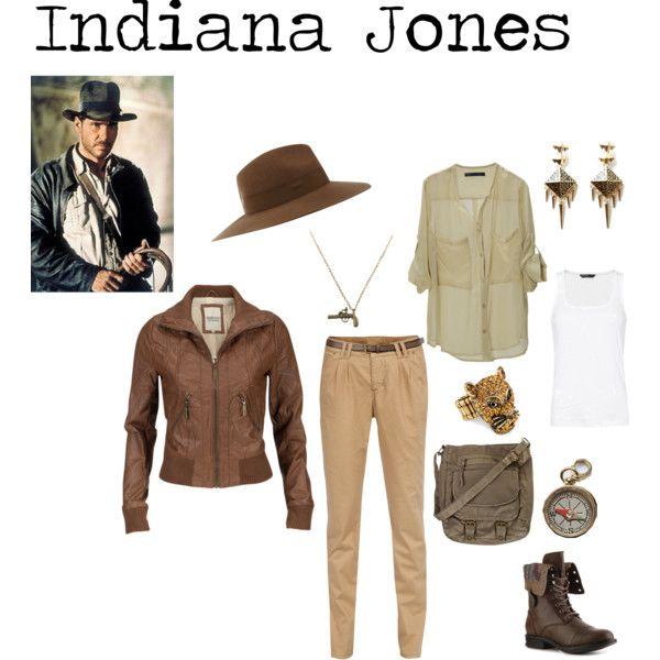 Indiana Jones - Polyvore