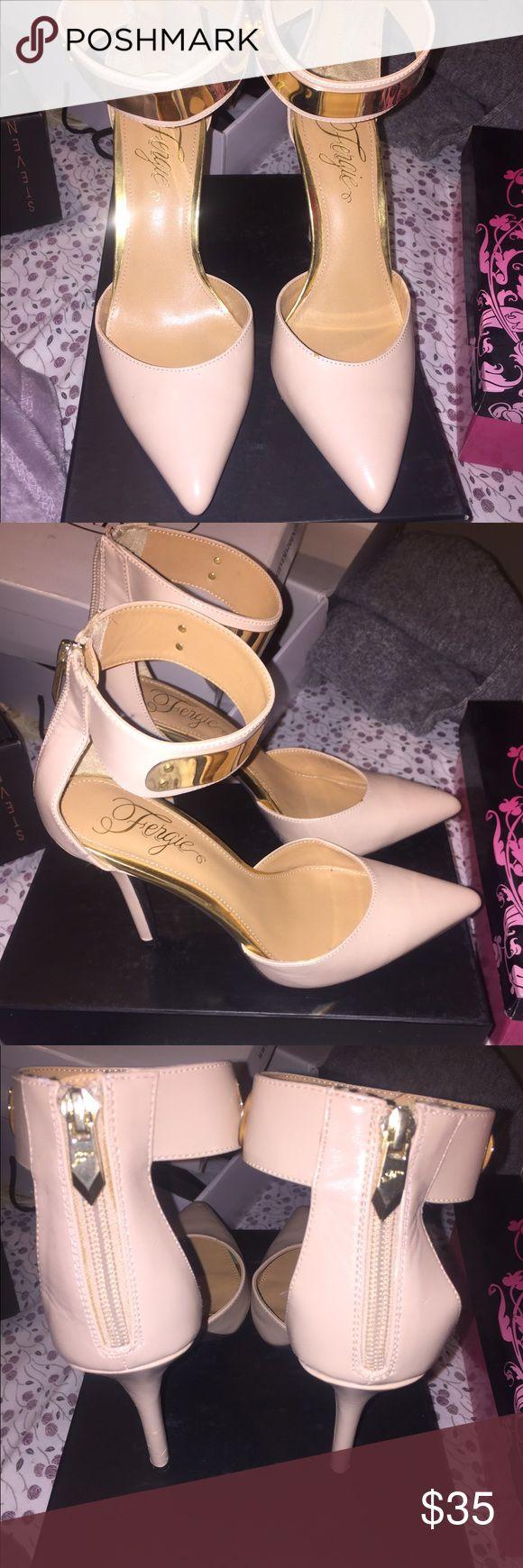 Brand new Fergie heels Never worn Fergie Shoes Heels