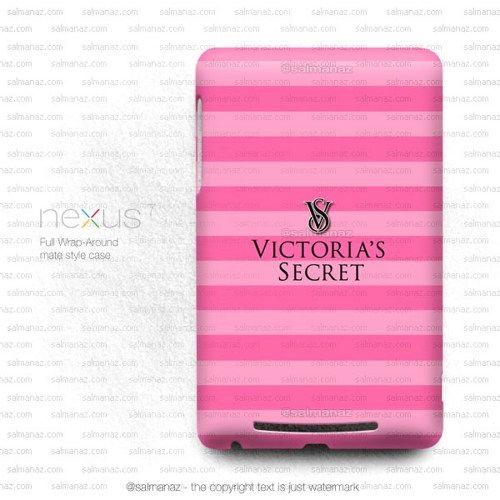 Victoria Secret Pink Stripe Google Nexus 7 1st Gen Case