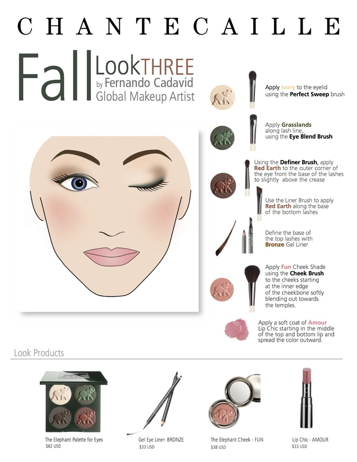 How To Apply Bridal Makeup Like A Pro : #Fall #makeup made easy with our Global Makeup Artists ...