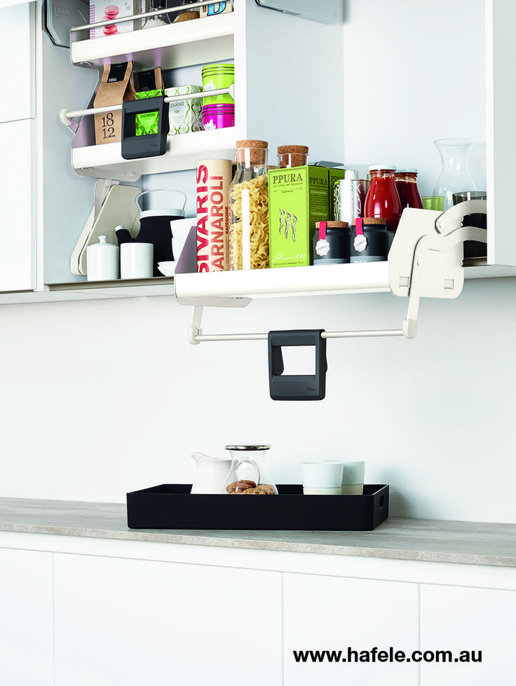 Kesseböhmer Clever Storage: iMove. So many benefits including effortless operation, everything in easy reach, a clearer overview, fast access, high quality design, elegant movement, smooth steady action.