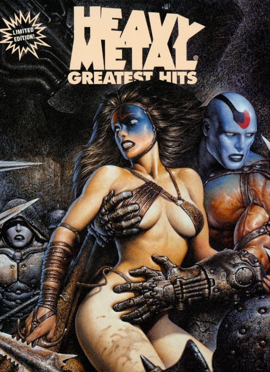 Heavy Metal Greatest Hits - Vol. 8 No. 2. Artist: Oscar Chichoni.