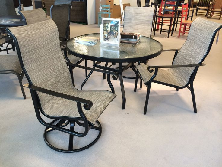 St.Croix Sling Outdoor Patio Furniture By Windward Design Group. Chicago  Casual Market 2014